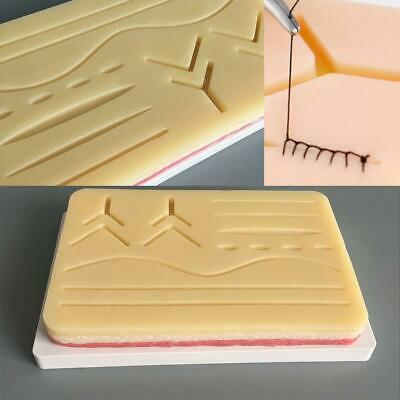 Silicone Human Skin Model Suture Practice Pad Surgical Training Simulation Kits
