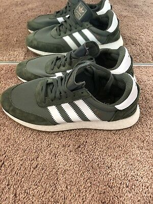 finest selection 0be62 d8a6f Adidas Originals Iniki Runner I-5923 Boost Base Green White Gum CQ2492 Size  10.5