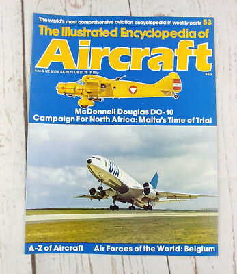 Illustrated Encyclopedia of Aircraft #53 Cutaway McDonnell Douglas DC-10