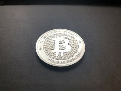 "Fine Silver Bitcoin 1 oz .999 Fine ""Strength in Numbers"" Round by APMEX"