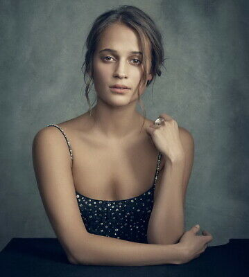 "032 Alicia Vikander - Sweden Hot Sexy Actor 14""x15"" Poster"
