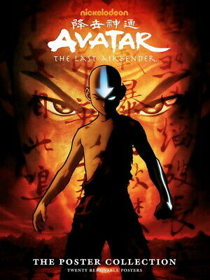 """185 Avatar The Last Airbender - Aang Fight Japan Anime 14""""x18"""" Poster"""