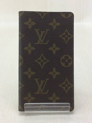 Louis Vuitton Agenda De Poche Monogram Agenda Notebook Cover Case R20503 Used