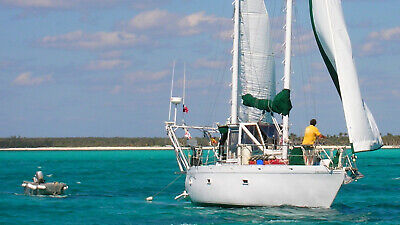 35' Ketch Zingaro II is in Abacos Bahamas and Ready for New Owners