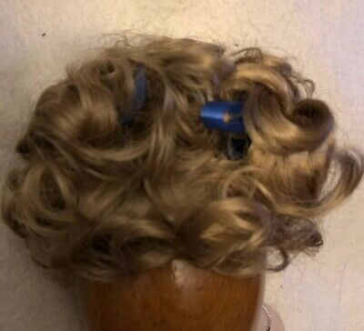 NEW DOLL WIG Style VICKIE Size 14-15 Color Dark Brown Curls /& High Pigtails