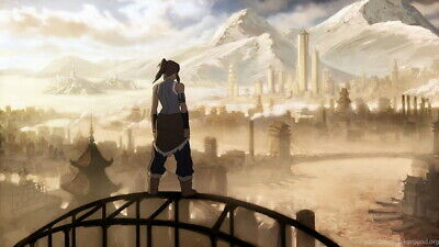 """187 Avatar The Last Airbender - Aang Fight Japan Anime 42""""x24"""" Poster"""