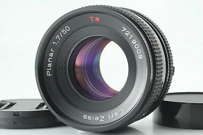 【N MINT+】Contax Carl Zeiss Planar T* 50mm F/1.7 MMJ Lens for CY Mount from JAPAN