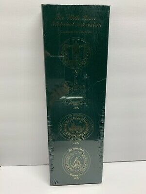 The White House Historical Association Ornament Set Collection 1990-1993 NEW