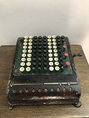 Vintage Calculator From The 30's Collectible Retro Collectors Item