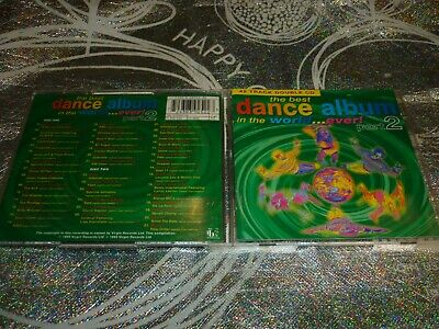 The Best Dance Album In The World... Ever! Part 2 (2 Disc) (Cd 42 Tracks, 1993)