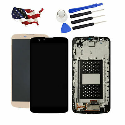 For LG K10 K410 K420N K430 MS428 LCD Display Touch Screen Digitizer Frame Tools
