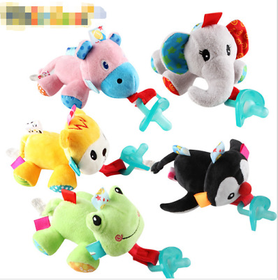 1PC Latest WubbaNub Removable Animal Plush Toy Infant Baby Soothie Pacifier Hot