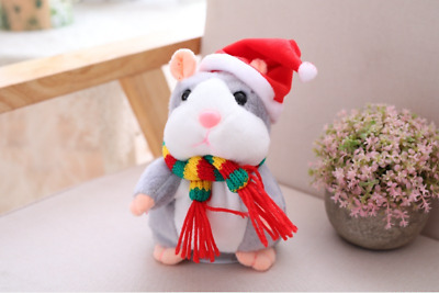 Talking Hamster Mouse Pet Plush Toy Cute Speak Sound Record for  Baby Children