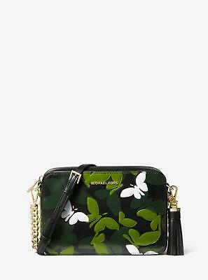 49b66f533d0b NEW Michael Kors Ginny Medium Butterfly Leather Crossbody Bag, Multi =EBAY  SALE=