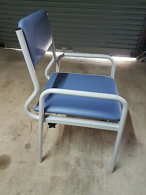 150kg weight limit Mobility Aid Adjustable Over Toilet Chair frame seat VGC