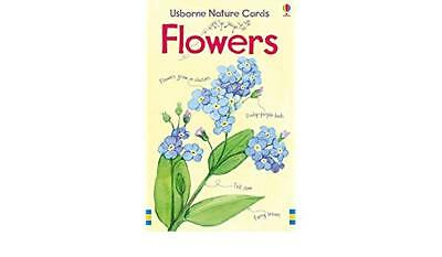BEAUTIFUL Usborne First Nature Cards - Flowers