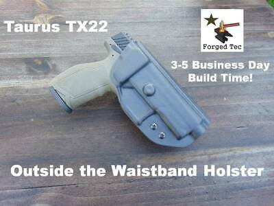 Taurus TX22 Kydex OWB Paddle Holster / See Listing for Details!