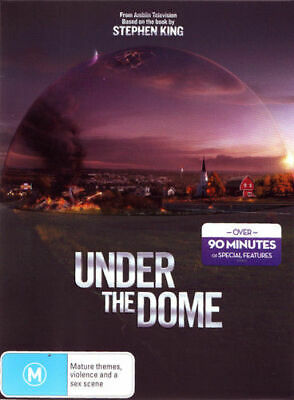 Under The Dome (DVD 4-Disc THICK BOX Set) COMPLETE SEASON 1 BRAND NEW SEALED