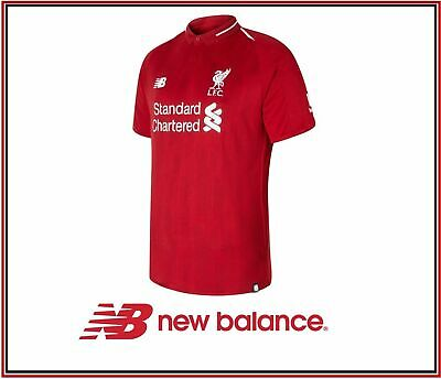 New Balance Mens Lfc Home Short Sleeve Football Jersey MT830000