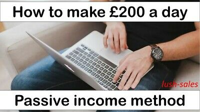 BUSINESS IDEA FOR SALE | Earn £200 a day