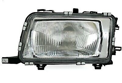HEADLIGHTS Left For AUDI 80 B4 9/91-1/96 H4 Halogen Suitable For LWR