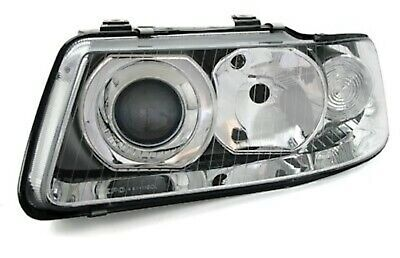 HEADLIGHTS Left For AUDI A3 8L 8/00-5/03 Drivers Side H1 H7 LWR