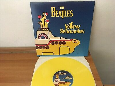 The Beatles - Yellow Submarine Songtrack  - Apple Records Colored Vinyl Lp NM