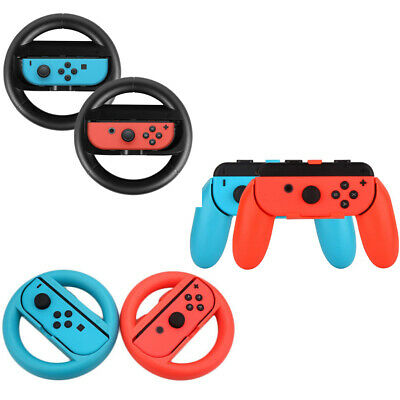 Joy-Con 2 Steering Wheel Grip for Nintendo Switch Game Controller Cover Handle