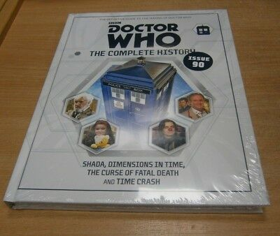 BBC Doctor Who The Complete History Novel Collection Issue #90 Shada, Dimensions