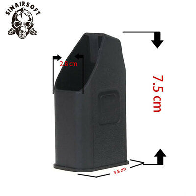 Tactical Magazine Ammo Speed Loader for 9mm .40 .357 .45 GAP Mags Clips Glock BK