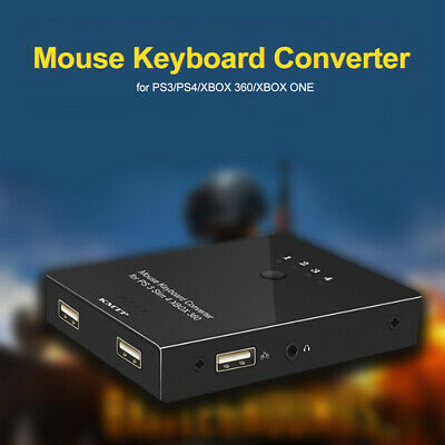 Mouse and Keyboard Converter Adapter USB for PS4/PS3/XBO ONE/XBOX 360 Gamer K7C0