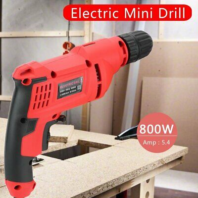 """Mini 1/2"""" 800W 5.4 AMP Electric Rotary Hammer Drill Corded Portable kit MA"""