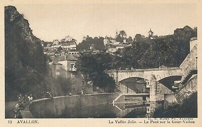 CPA - France - (89) Yonne - Avallon - La vallée Jolie