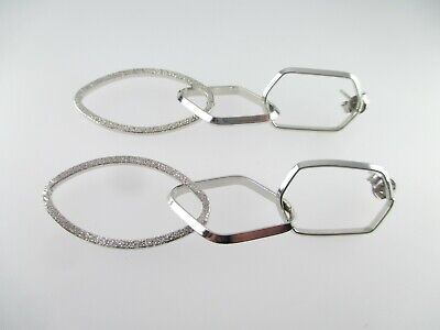 Designer Ohrringe 925 Sterling Silber Ohrstecker Vintage silver earrings