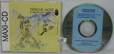 Depeche Mode - Everything Counts (In Larger Amounts) -  Electro Synth-pop