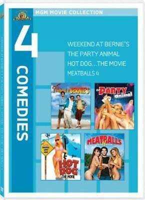 Weekend at Bernie's / Party Animal / Hot Dog: The Movie / Meatballs 4