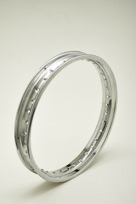 wheel rim chrome steel 1,85 x 19 holes 40 NEW