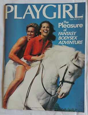 VINTAGE PLAYGIRL MAGAZINE * Vol 5 n°2 * 1977 GAY INTEREST * New