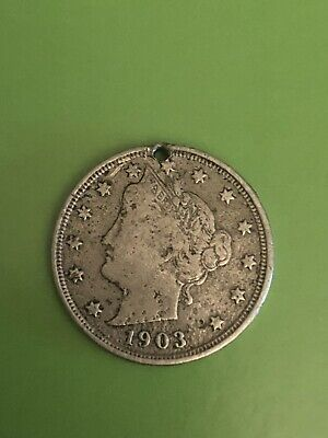 5c Nickel Five Cents 1903 Liberty Head V Nickel 5 Cent SEE PHOTOS READ DESCRIPTI