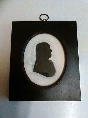 Antique Early 19th Century Plaster Silhouette by John Miers (1783)