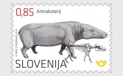 H01 Slovenia 2019 The Anthracothere  MNH Postfrisch