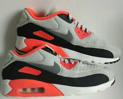 NIKE AIR MAX 90 Infrared VTM WhiteBlackOrange sz UK 9 AM90 VGC