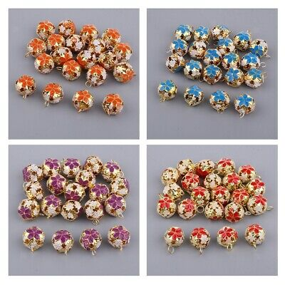 20 Jingle Bells Holiday Bells Colored Wedding Garland Bell Wholesale 18/15mm