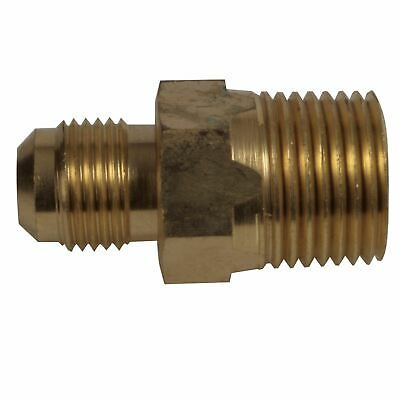 Brass: Male Flare x Male NPT