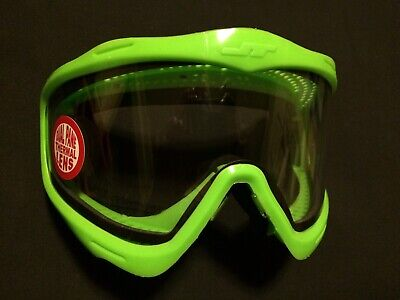 NEW JT Spectra Proflex Lime Green Limited Edition Frame 1 of 1200 Paintball Mask