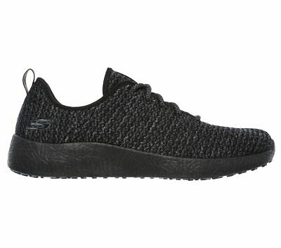 Details about SKECHERS 52114BKW DONLEN Mn's (M) BlackWhite Mesh Athletic Shoes