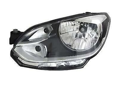HEADLIGHTS LEFT FOR VW UP! 12/11- Chrome Halogen H4 FLUSH FOR LWR