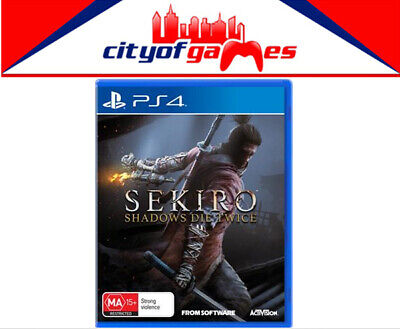 Sekiro Shadows Die Twice PS4 Game Brand New & Sealed