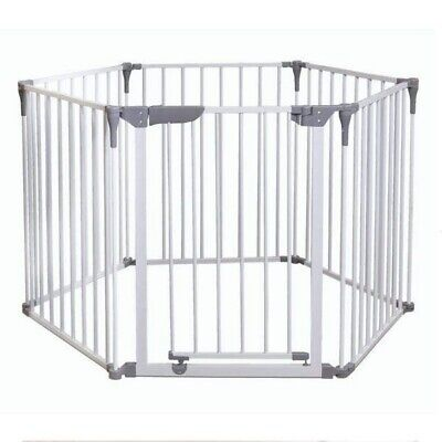 Lindam Secure & Safe Baby Playpen - White Metal Good Condition - Pick Up SYDNEY