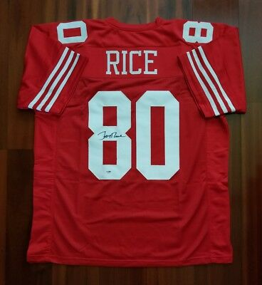 3e22f290c07 JERRY RICE AUTOGRAPHED Signed Jersey San Francisco 49ers PSA DNA ...